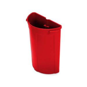 Модуль для мусора на 70 литров, красный
