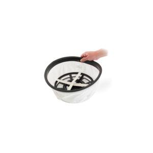 Черная насадка для пола со скошенным срезом (100мм)