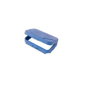 Универсальная система для крепления мусорного мешка на 120 литров или 2 мешков на 70 литров, Синяя (NC3000)